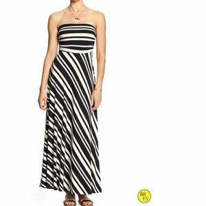 Banana Republic NWT Striped Maxi Dress - XS